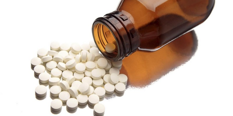 использование аспирина при косточке на ноге