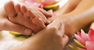 Массаж шишки на пальцах ног