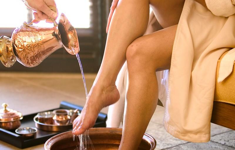 Вымыть ноги