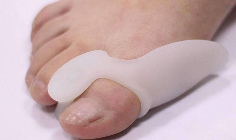 Накладка из силикона на палец ноги