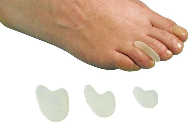 Накладка на палец ноги из силикона