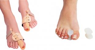 Ортопедические средства от шишек на ногах