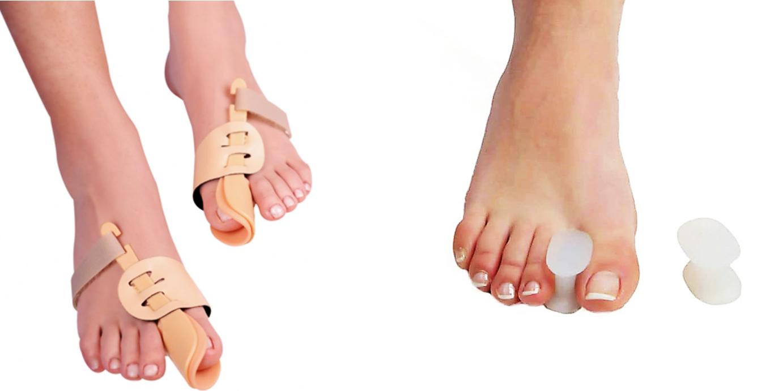 Фиксаторы для большого пальца ноги ортопедические корректоры